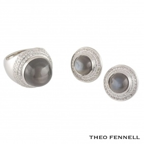 Theo Fennell Diamond and Quartz Jewellery Suite